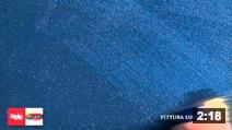 Pittura luccicante - Blue